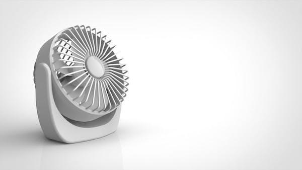 サーキュレーター扇風機の画像