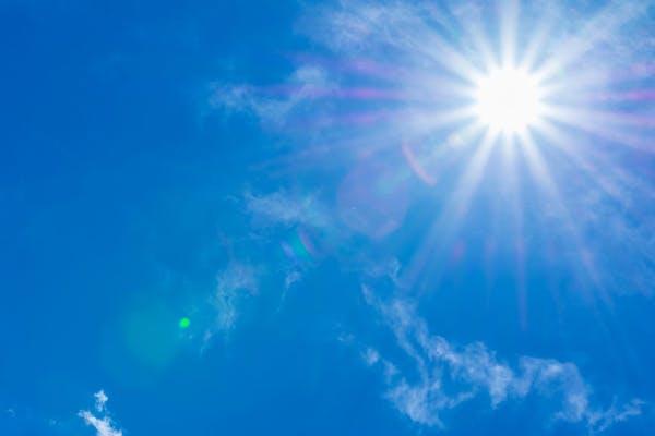 直射日光 紫外線