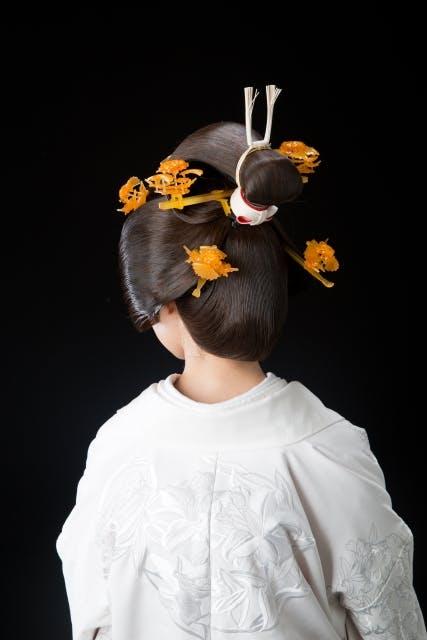 文金高島田 和装婚 髪型