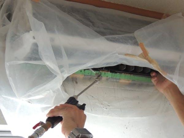 内部クリーン機能とエアコンクリーニングで、カビ予防は万全!