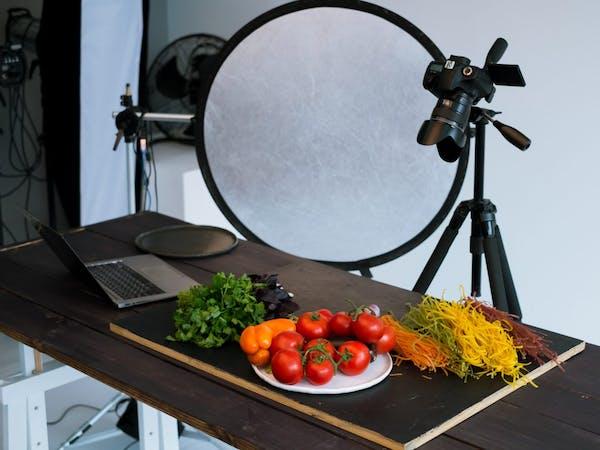 料理撮影 ライティング