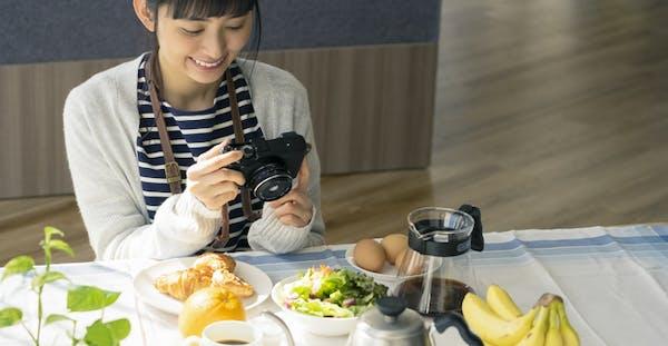 料理写真をプロカメラマンに依頼