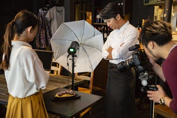 プロカメラマン 料理 撮影
