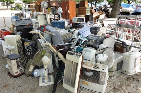 エアコンは家電リサイクル法の対象家電!