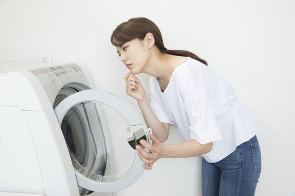 洗濯機の水抜きの注意点