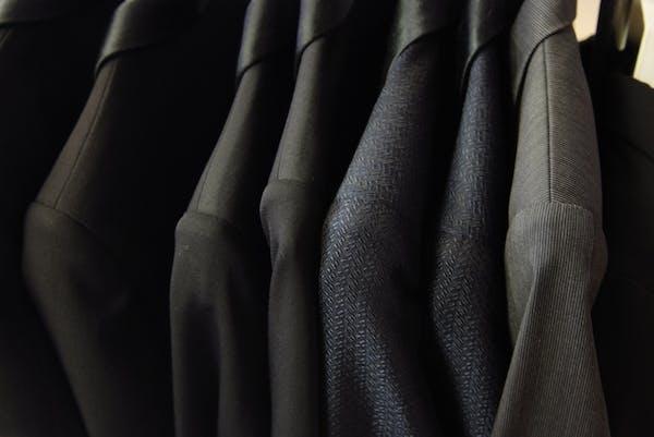 お父さんのスーツ