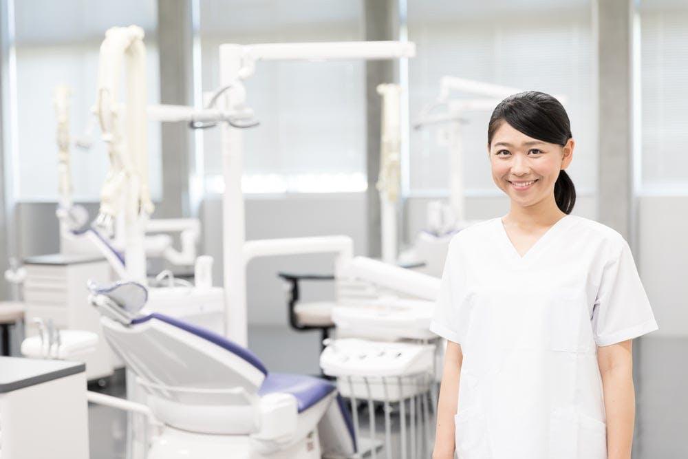 歯科医院の写真の撮影
