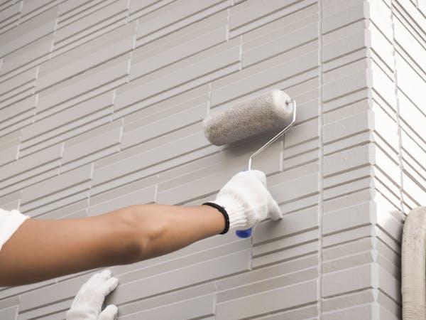 外壁が落ち着いた印象に仕上がる艶消し塗装