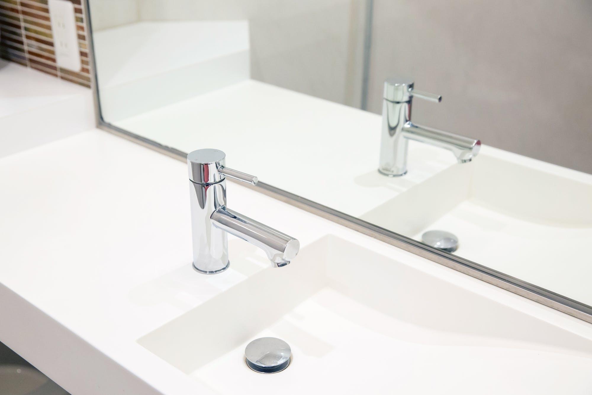 防止 は 台 ね 洗面 水