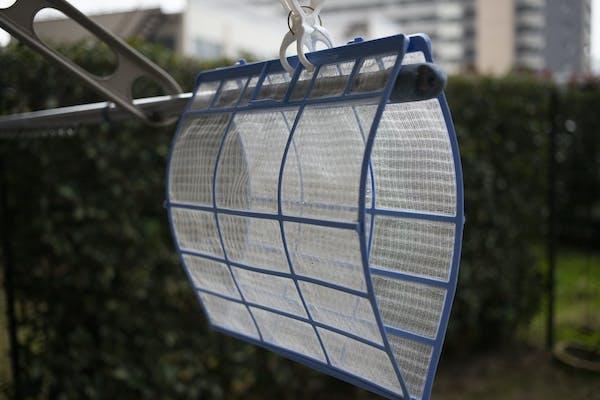 エアコン フィルター乾燥