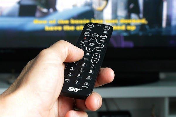 テレビの視聴