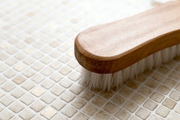 お風呂の掃除用ブラシ