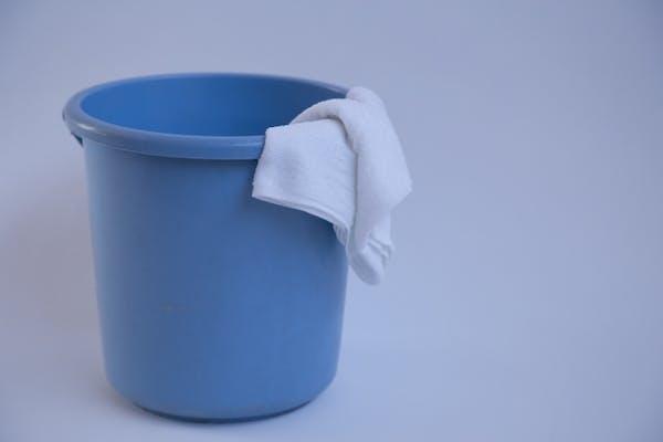 バケツと雑巾