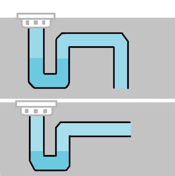 浴室 排水トラップ