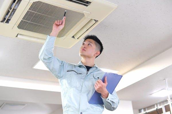 天井埋込エアコン掃除業者