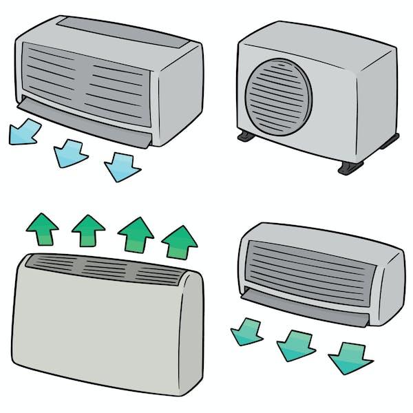 多種多様なエアコン