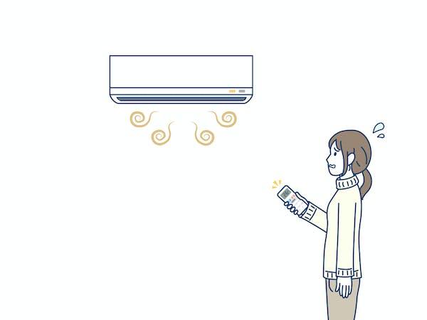エアコンの異臭 におい