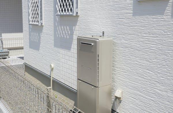 戸建ての給湯器