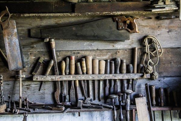 沢山の工具