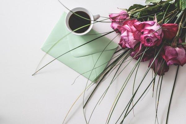 手紙とコーヒー
