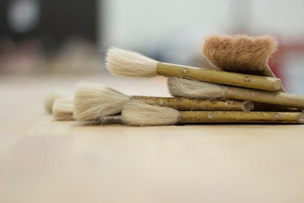 塗装に使う道具