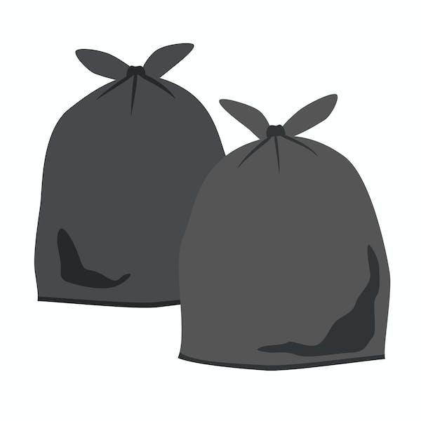 黒いビニール袋