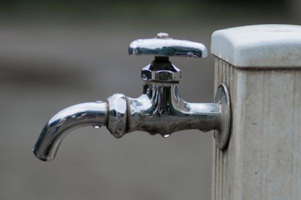 単水栓の蛇口