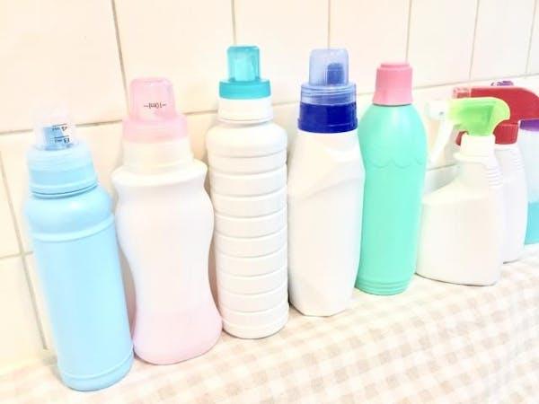 数種類の洗剤