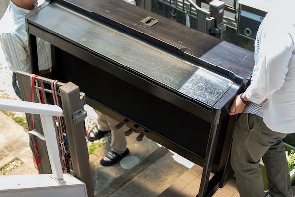 ピアノの運搬