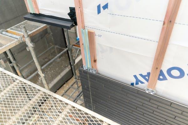 外壁の工事 サイディング