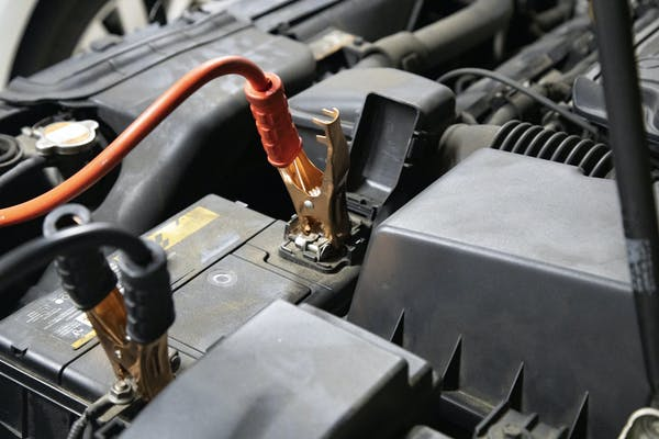 車のバッテリー
