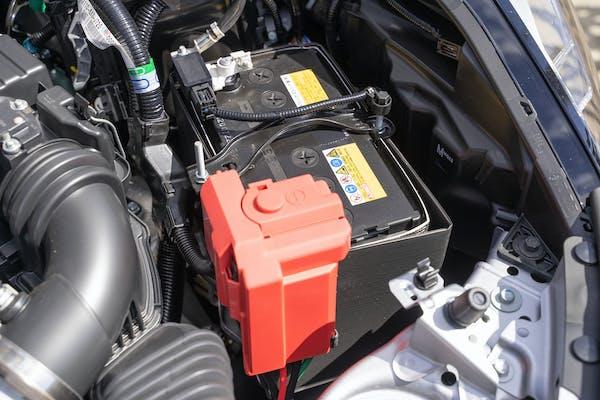 自動車のバッテリー