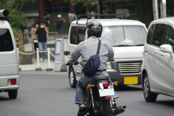 走る原付バイク